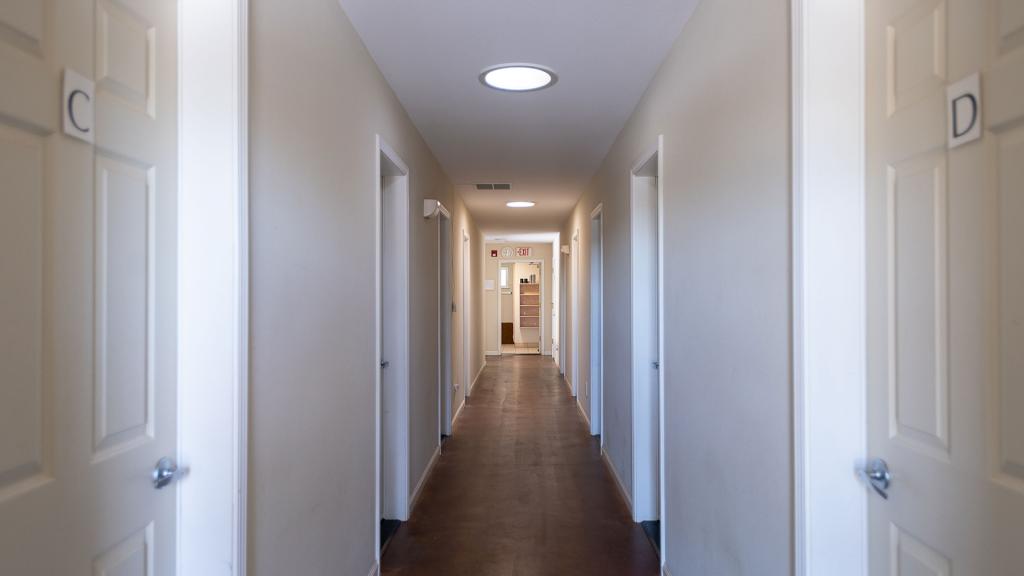 Students' Accommodation Hallway